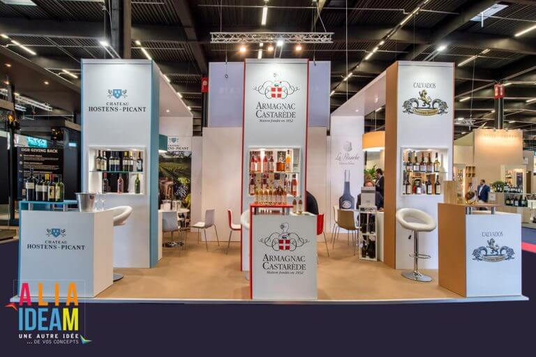 Stand Armagnac Castarède - Vin