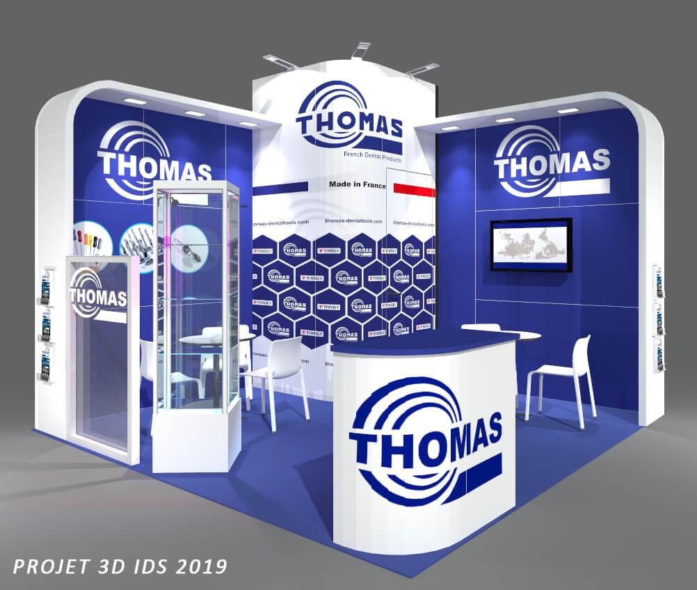 Merci à Thomas - French Dental Products pour la confiance accordée dans la conception et la réalisation de leur stand au salon IDS - International Dental Show de Cologne !