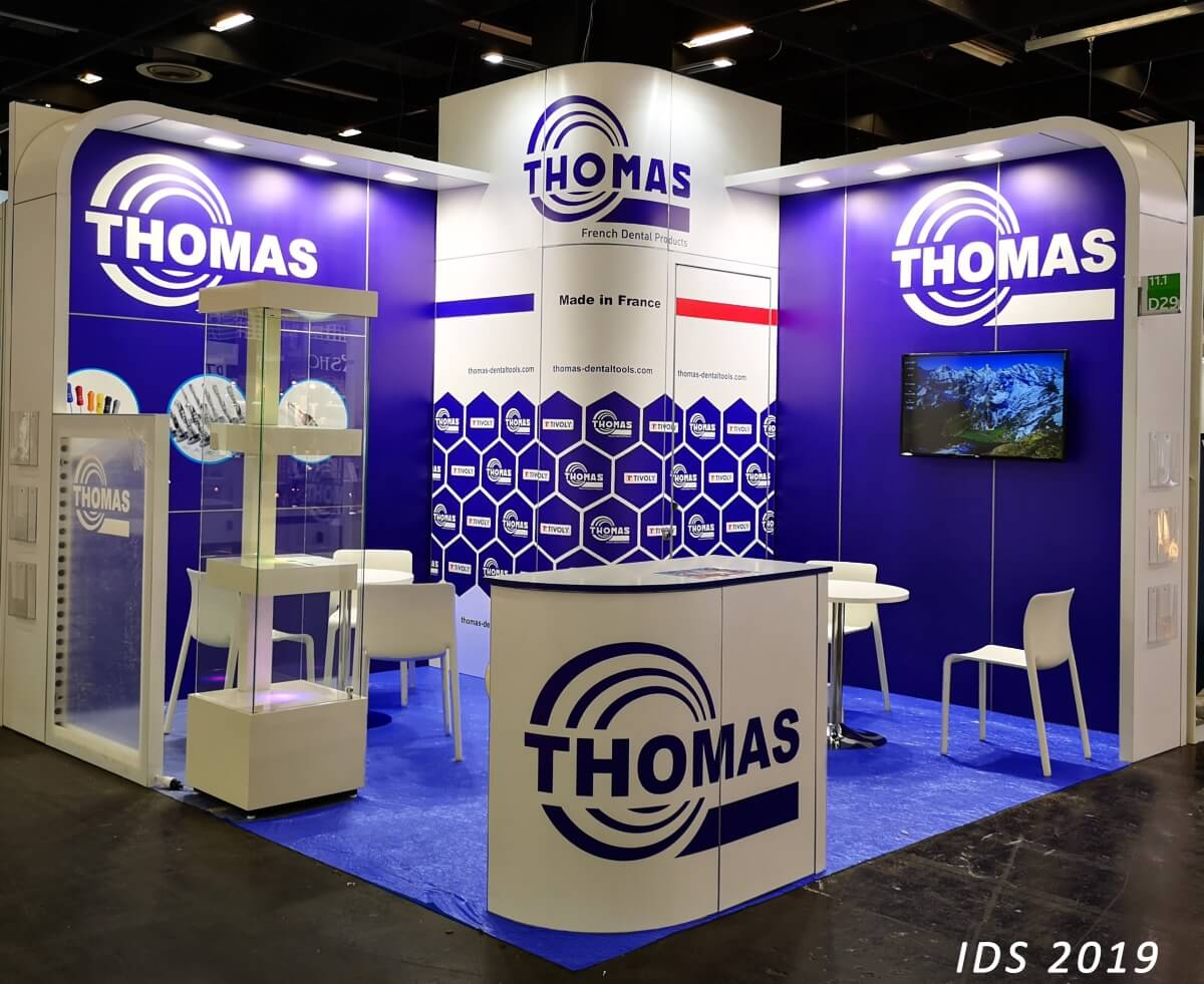 Thomas - French Dental Products - stand au salon IDS - International Dental Show de Cologne !