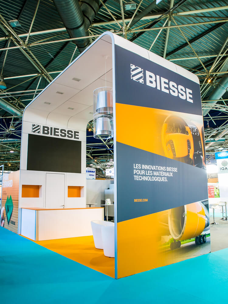 Stand Modulaire Biesse Group