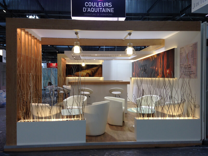 Stand Traditionnel Couleurs d'Aquitaine