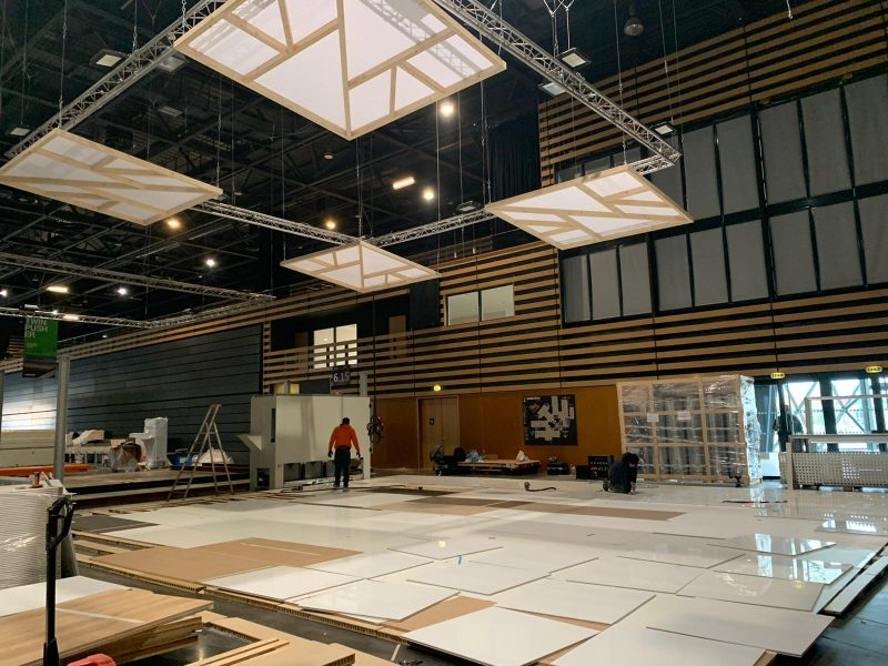 Montage Stand Biesse